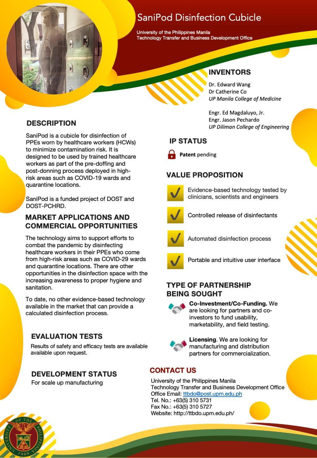 SaniPod Technology Brief