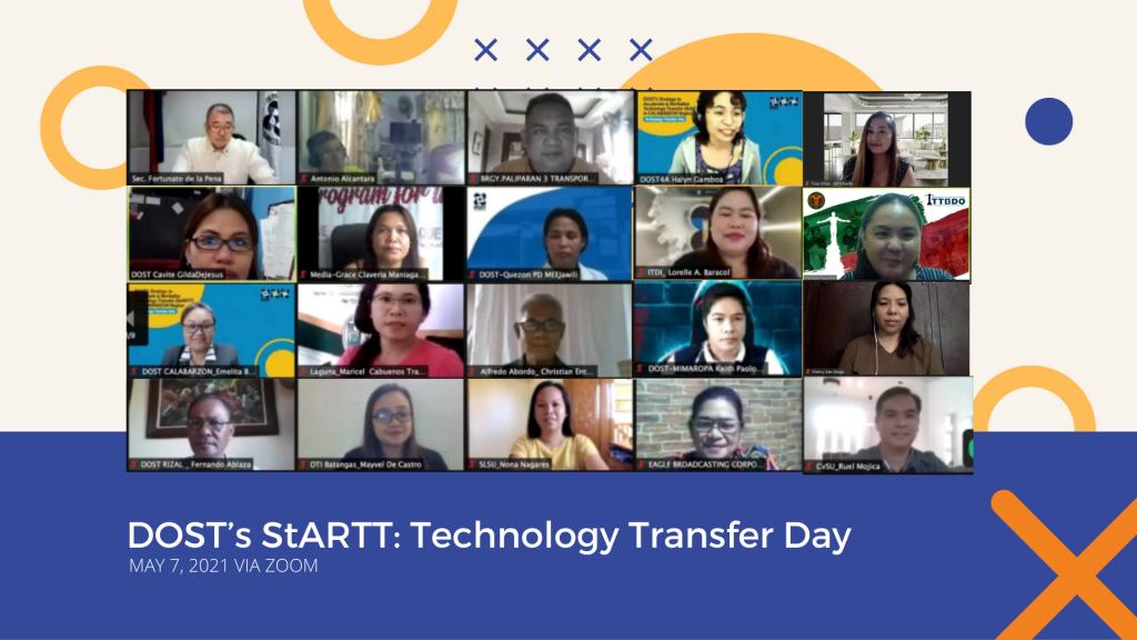 DOST-StARTT's Technology Transfer Day features UPM health and wellness technologies